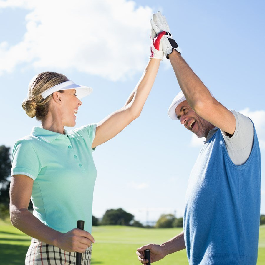 High five to our golf courses