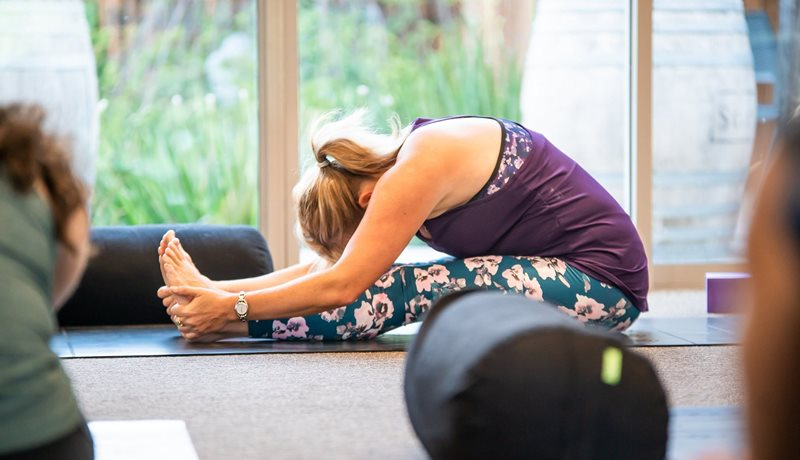Free daily yoga classes for guests