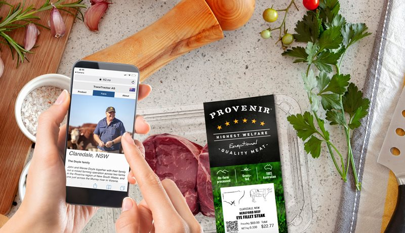 Provenir - Scan the unique QR code on every pack for true provenance and traceability of your beef.