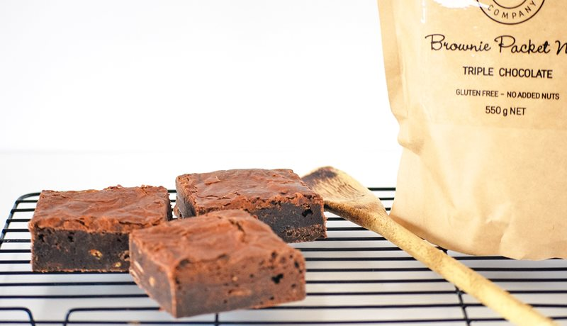 Bellarine Brownie Company, Triple Chocolate Brownie Packet Mix