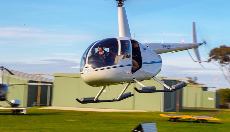 Helicopter Flights Barwon Heads Airport