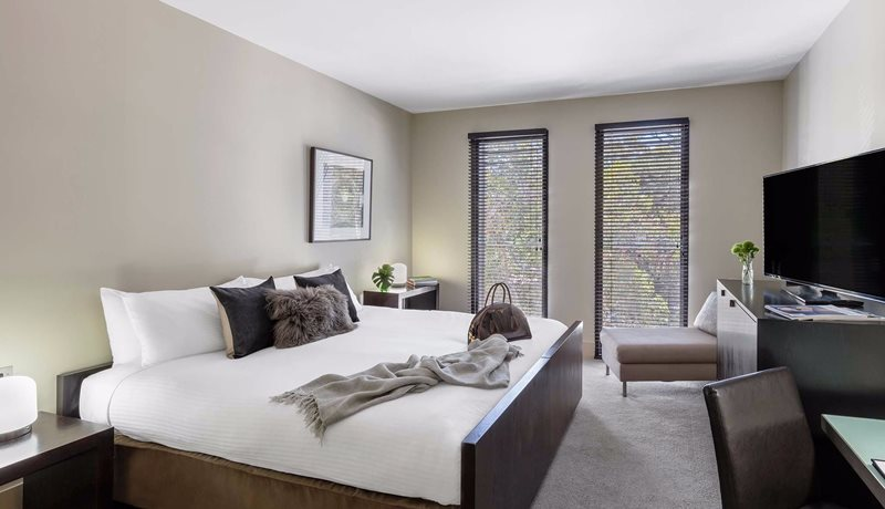A Superior Room at the Mansion Hotel & Spa