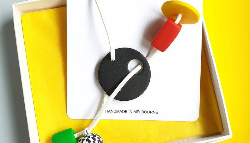 Necklace - bold and adjustable