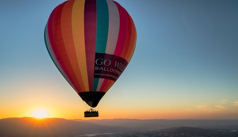 Ballooning at Sunrise