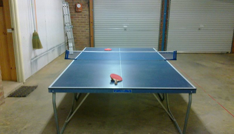 Double Garage with Table tennis table