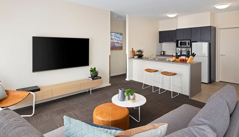 Quest Geelong Full sized Kitchens