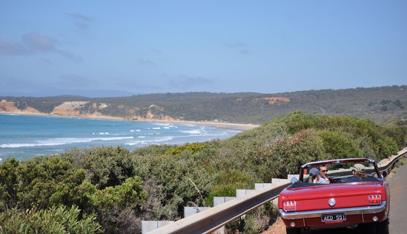 Great Ocean Road - tick off your bucketlist in a Mustang Convertible