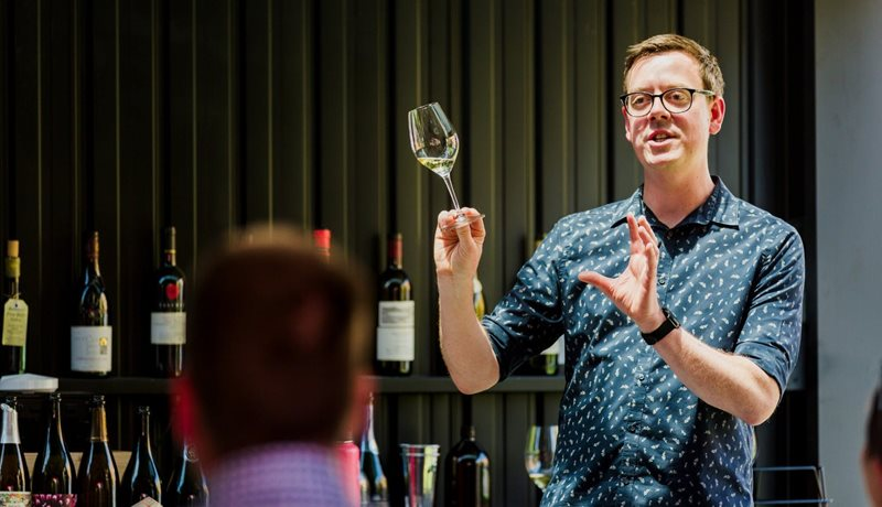 Archive Wine Tasting with Graham Sutherland