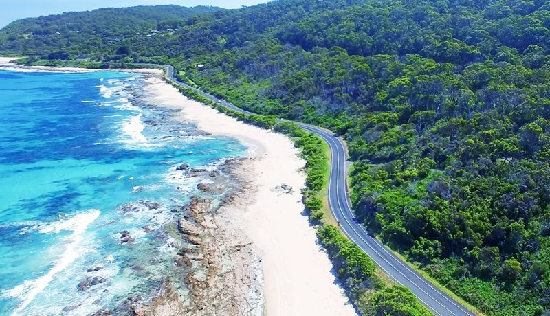 Enjoy the quality roads and stunning scenery of the Surf Coast