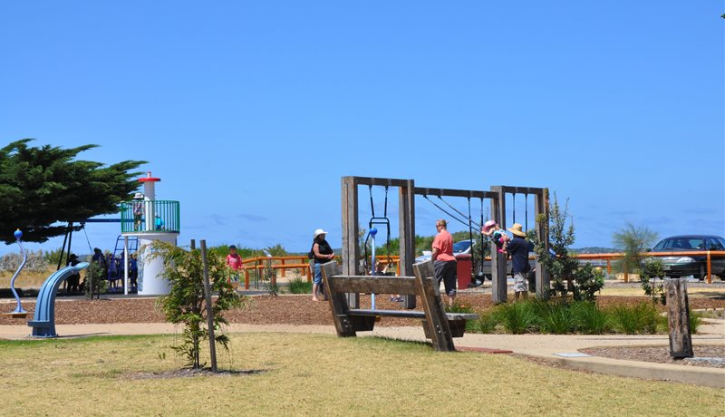 Playground at Princess Park Queenscliff
