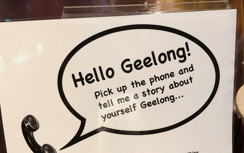 Instructions for Hello Geelong at the National Wool Museum Geelong
