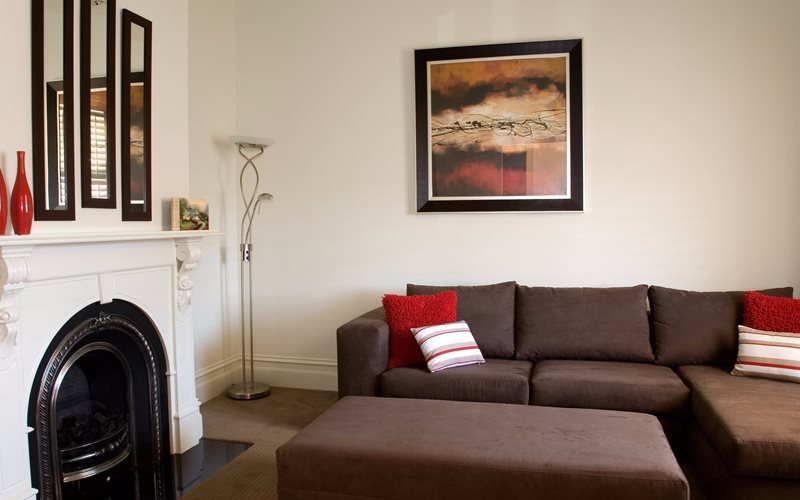 Cosy lounge room, gas log fire, TV, DVD, games console, games & movies