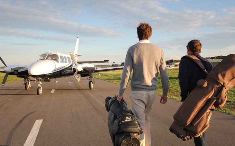 Fly to King Island for some of the best golf.