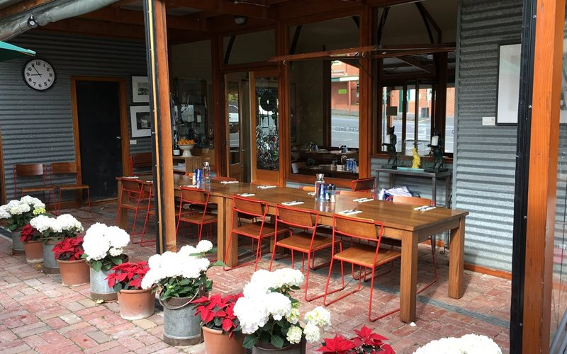 Indoor out door area, great for all weather