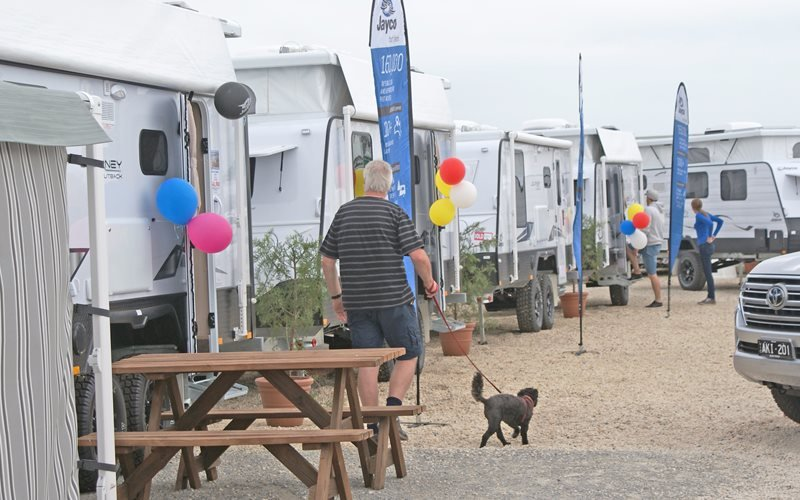 Animals are welcome at Prestige Jayco!