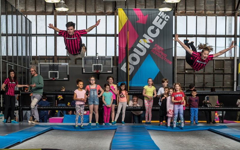 Unleash your free spirit at BOUNCE