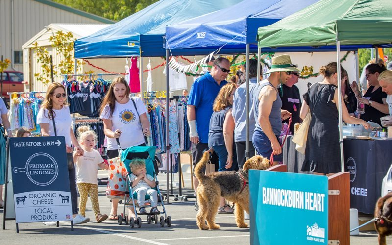 Something for everyone at the market, so grab your bags and stock up!